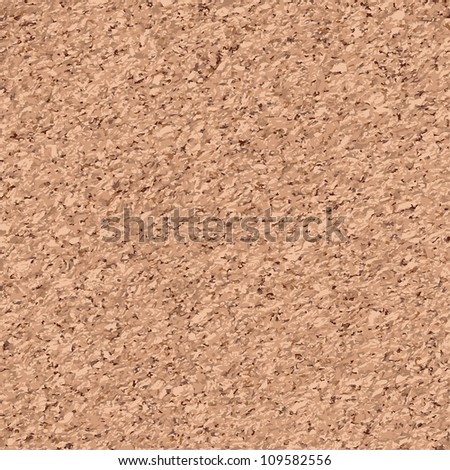 cork seamless pattern - stock vector
