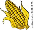 corn - stock vector