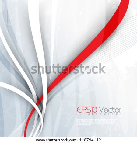 corporate background illustration. eps10 vector format - stock vector