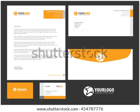 Corporate Stationery Design  (Ready to Print)