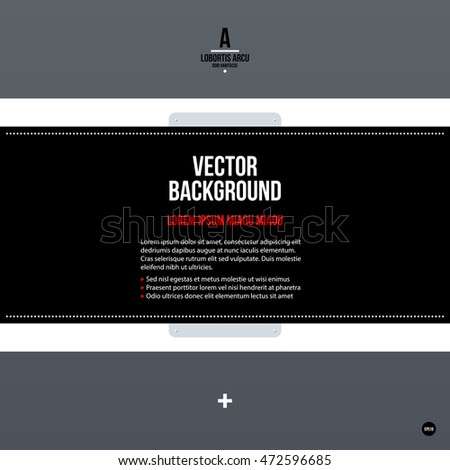 Corporate Tex Background Template Useful Presentations Stock Vector ...