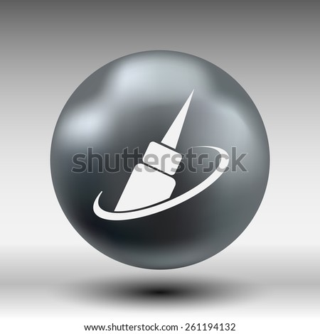 corrector eye icon eye vector icon fashion isolated sign symbol female. - stock vector