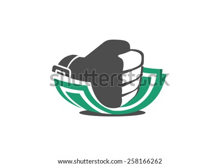 Corruption. Logo. Vector.  - stock vector