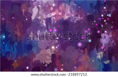 Cosmic abstract background - stock vector