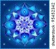 Cosmic Mandala - stock vector