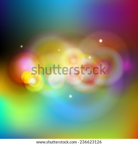 cosmic space - abstract background design - vector - stock vector