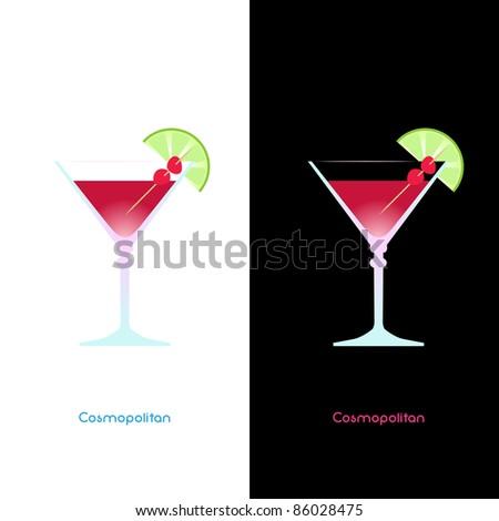 Cosmopolitan - stock vector