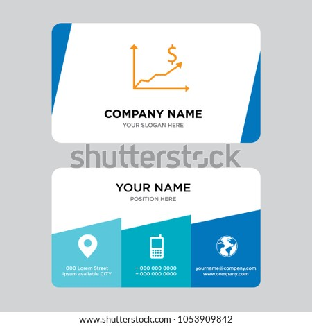 Cost efficiency business card design template stock vector 2018 cost efficiency business card design template visiting for your company modern creative and clean colourmoves