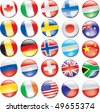 Country Flag Icons - stock vector