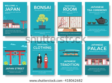 Country Japan. Travel Japan. Japan icon. Japan vacation. Japan places. Japan set. Japan people. Japan culture. Japan flat. Japan jpg. Japan eps. Japan pic. Japan Magazines. Japan book. Japan cards - stock vector
