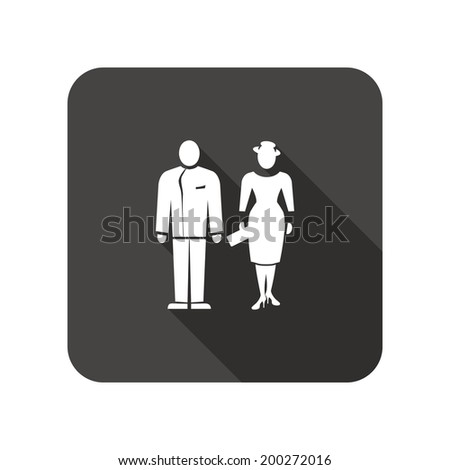 That Husband and wife silhouette