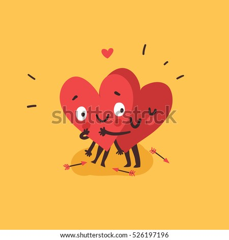 Vector Love cartoon Wallpaper : Hug Stock Images, Royalty-Free Images & Vectors Shutterstock