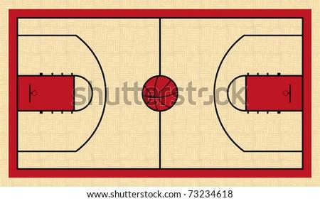 court - stock vector