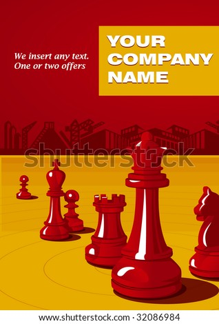 cover - stock vector
