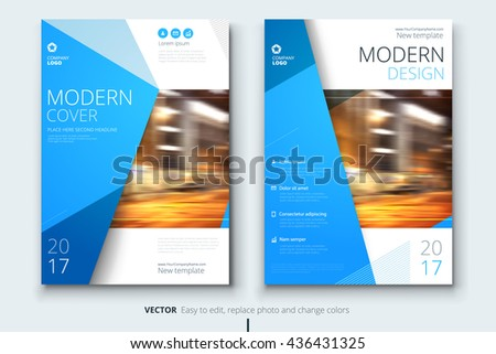 Cover Design Corporate Business Template Brochure Vector – Proposal Cover Page Design