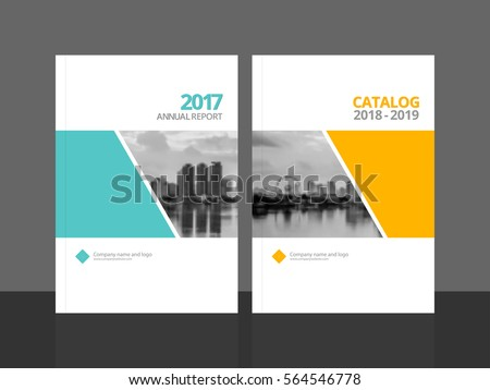 Corporate Brochure Template  VisualbrainsInfo