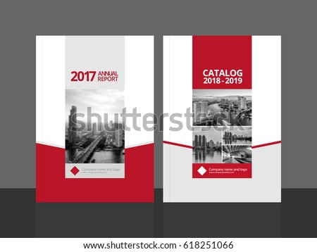 Brochure template layout cover design annual report magazine flyer - Catalogue Cover Stock Images Royalty Free Images