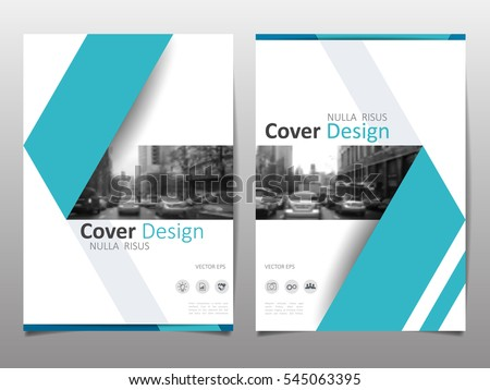 Template For Annual Report | Cover Design Template Annual Report Abstract Vector De
