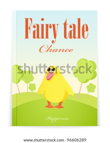Story book cover stock images royalty free images for Fairy tale book cover template