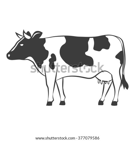 cow outline stock images royalty free images amp vectors 1971 arctic cat wiring diagram cat meat diagram