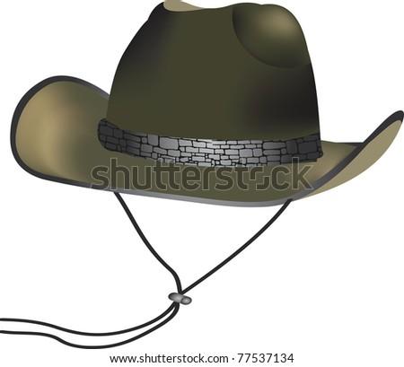 cowboy cap skin - stock vector