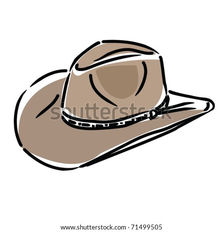 cowboy hat illustration