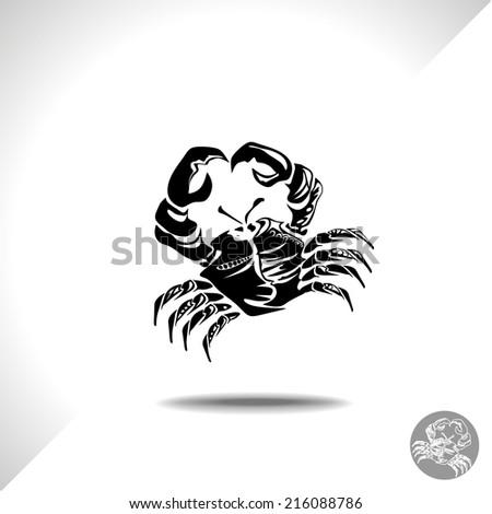 crab  - stock vector