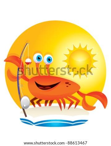 Crab Fisherman - stock vector