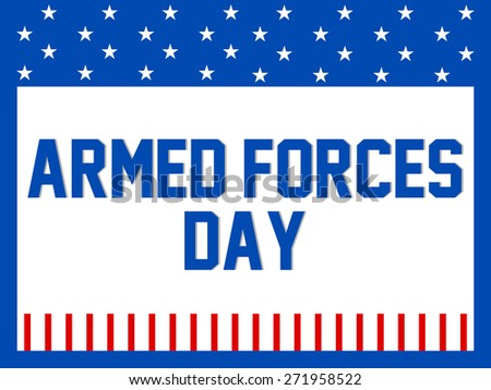 Creative and beautiful abstract for Armed Forces Day with nice white colour patch in a blue colour seamless background. - stock vector
