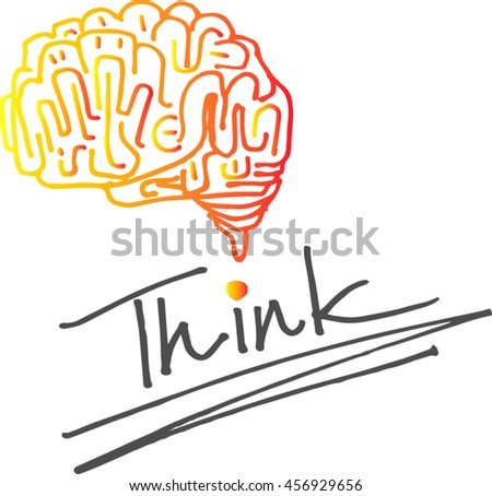 Creative and knowledge concept. education idea, innovation and solution, creative design.Vector illustration - stock vector