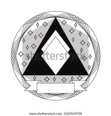 creative award template hipster label premium stock vector 626964938