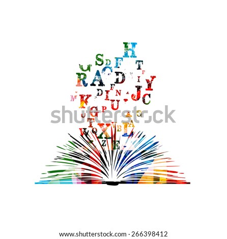 Creative book  - stock vector