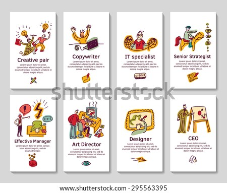 Creative business cards banners funny icons stock vector hd royalty creative business cards banners funny icons stock vector hd royalty free 295563395 shutterstock colourmoves