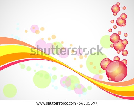 creative decoratively stylized abstraction background