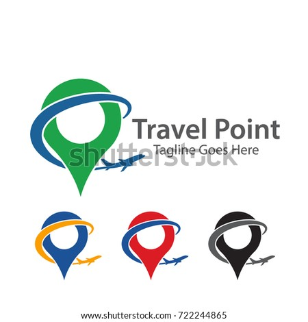 Creative Global Travel Logo Template