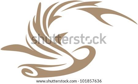 Creative Hammerhead Shark Illustration - stock vector