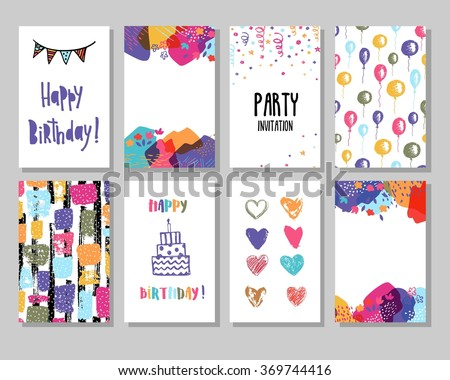 Birthday Card Images RoyaltyFree Images Vectors – Picture of Happy Birthday Cards