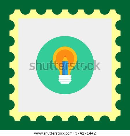 Creative idea icon - stock vector