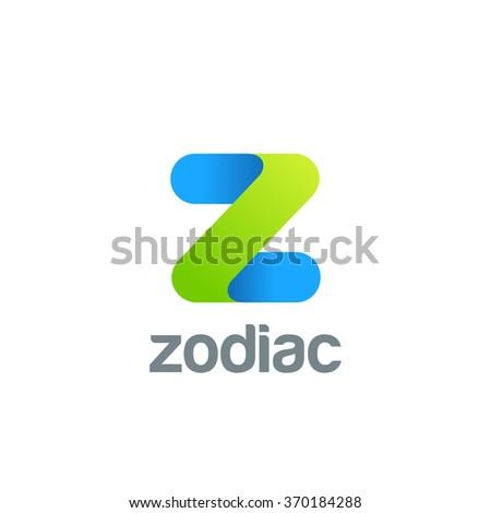 Creative Letter Z Logo Design Vector Stock Vector 370184288