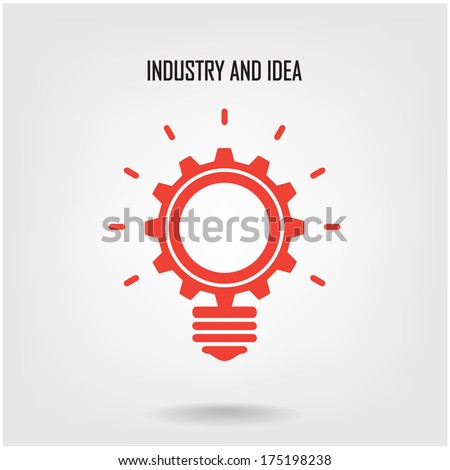 Creative Light Bulb Concept Background Design Stock Vector ...