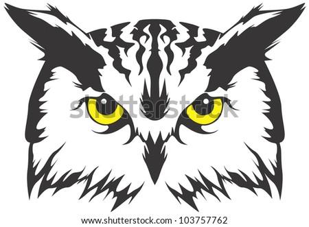 Creative Owl Illustration - stock vector