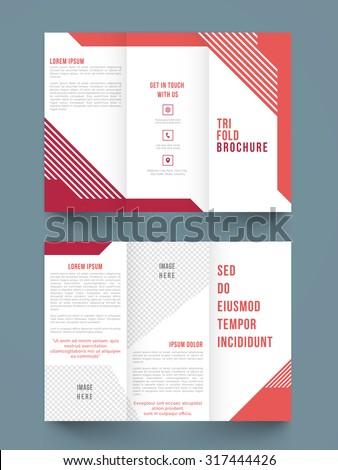 Brochure Template Stock Images RoyaltyFree Images Vectors - A brochure template