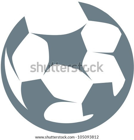 Creative Soccer Ball Illustration - stock vector