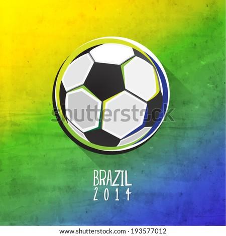 Creative Soccer Vector Design - stock vector