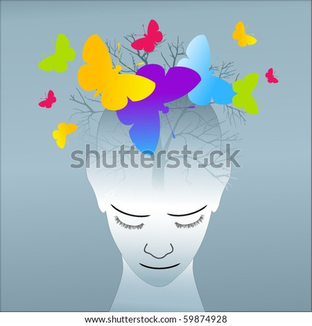 creativity concept - stock vector