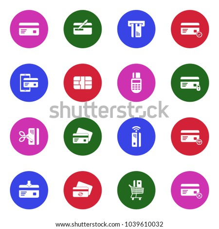 credit card icons white flat design stock vector 1039610032 rh shutterstock com vector credit card icons download vector credit card icons