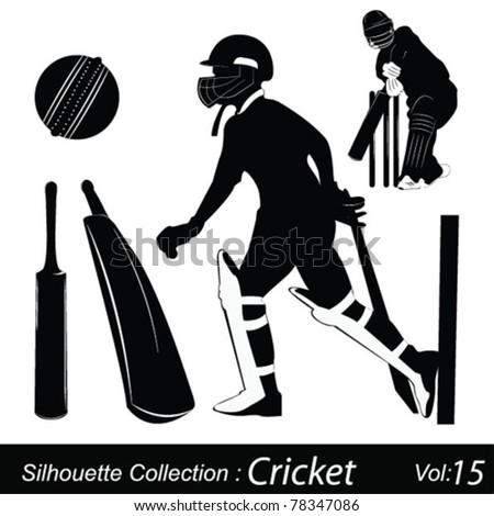 Cricket - stock vector