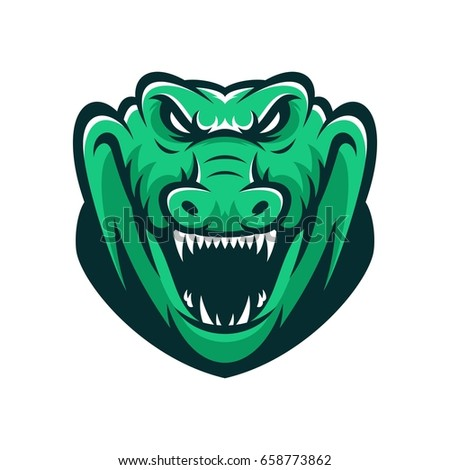 Crocodile Logo Stock Images, Royalty-Free Images & Vectors ...