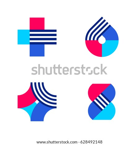 cross drop dna set abstract medical stock vector 628492148 rh shutterstock com vector medical devices vector medical definition