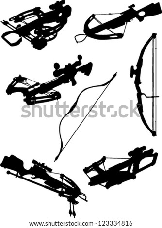 crossbow and bow collection